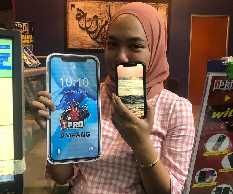 Penukaran OLED iPhone XR di iPro KL