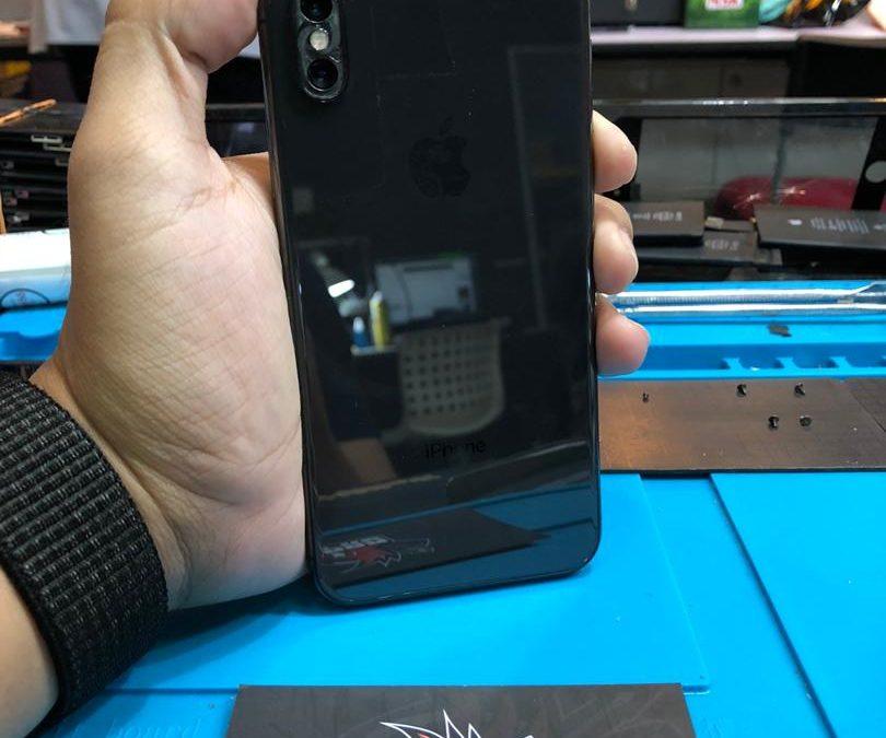 Penukaran Kanta Kamera iPhone X di iPro Ampang