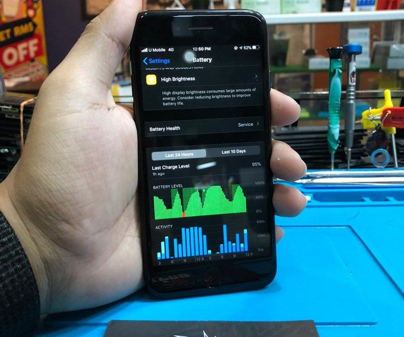Penukaran Bateri iPhone 6 di iPro Ampang