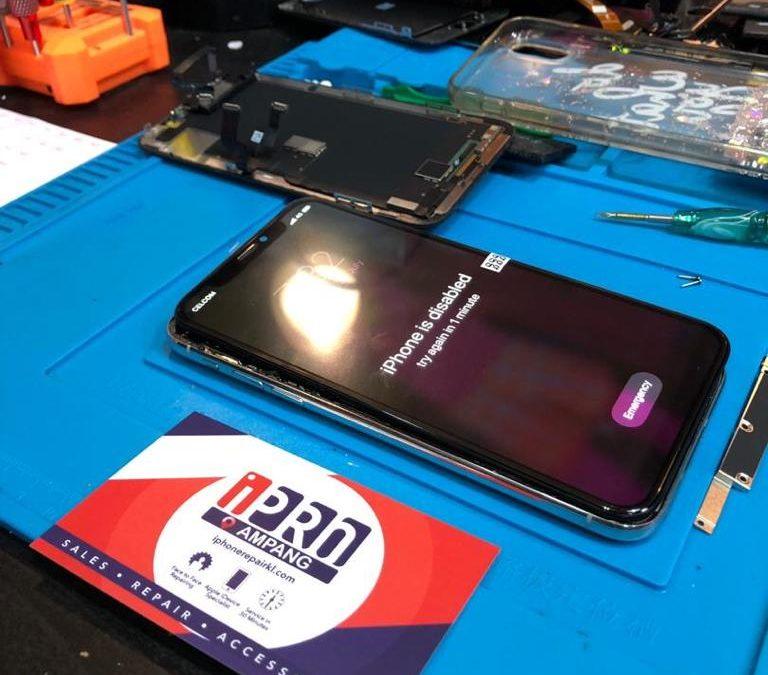 Repair LCD iPhone X Terbaik Di KL